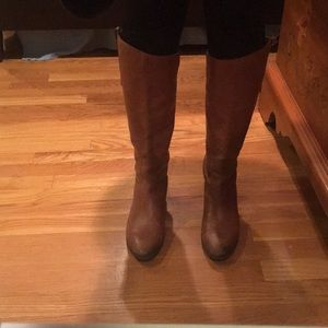 Sam Edelman Penny Boot in Brown